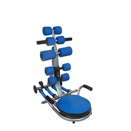 Fengbingl-sp Faltbare Bauchmuskeltrainer Schöner Bein-Formungs-Körper, der Multifunktionsabdominalmaschine-Faule Sport-Abdomen-Maschine verdreht Heimgymnastik-Übungs-Trainings-Training -