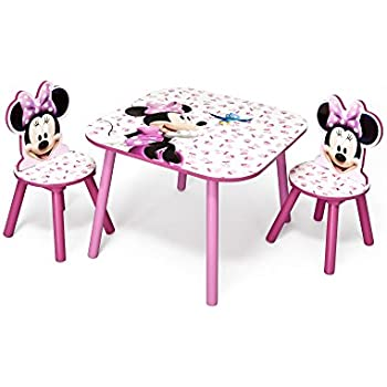Disney Minnie Mouse Table and Chair
