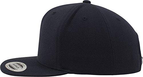 Flexfit Classic Snapback Cap, Mütze Unisex Kappe für Damen und Herren, One Size, plus extra Kindergröße darknavy/darknavy