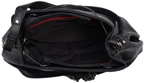 s.Oliver (Bags) 39.511.94.5347 Damen Henkeltaschen 34x32x16 cm (B x H x T) Schwarz (black 9999)