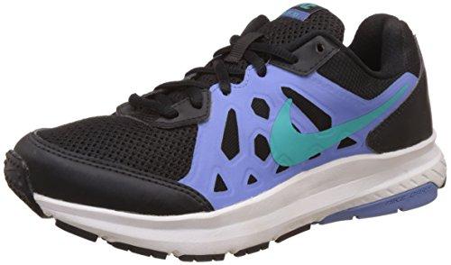 Nike Dart 11 MSL Femmes Synthétique Chaussure de Course Black-Lt Retro-Polar-White