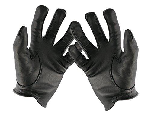 s, Leder Polizei Handschuhe (L) ()