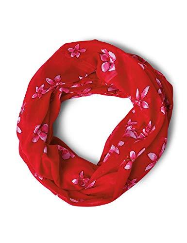 Street One Damen 570896 Schal, Rot (vivid red), One Size