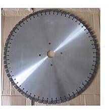 Gowe 81,3cm lama diamantata per camminare dietro Wet | 800mm in acciaio resistente, cemento armato, cemento strada ponte disco di taglio - Taglio Wet Saw