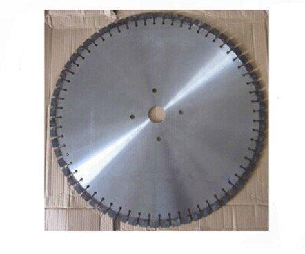 Gowe 76,2cm lama diamantata per camminare dietro Wet | 760mm in acciaio resistente, cemento armato, cemento strada ponte disco di taglio - Taglio Wet Saw