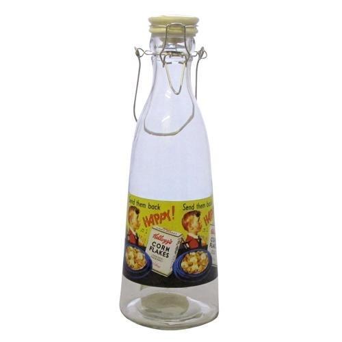 forma-conica-vintage-kelloggs-botella-de-cristal-con-tapa-amarillo-corn-flakes