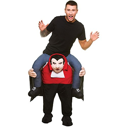 Peeks Carry Me Vampire Mens Halloween Fancy Dress Costume Full Outfit One Size