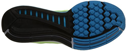 Nike Air Zoom Structure 18, Scarpe sportive, Uomo Ghost Green/Blk-Bl Lgn-Gm Ryl