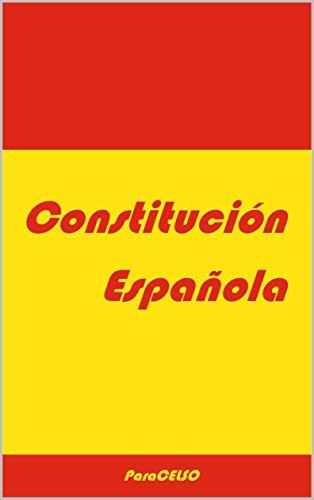 Constitución Española por Padres de la Constitución