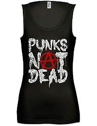 3bd5c0d355 Punks Not Dead II Mujer Camiseta Sin Mangas Women Tank Top Tamaños ...