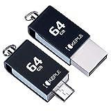 64GB Flash Drive Chiavetta Esterno Photostick OTG Micro USB Compatibile con Lenovo Yoga Tab 8, 2 A7-30, 2 10.1, 2 Pro, 2 8, 3 8, Yoga Tab 10, 2 10, 3 10, 3 Pro Tablet | 64 GB Flashdrive Pen Memoria