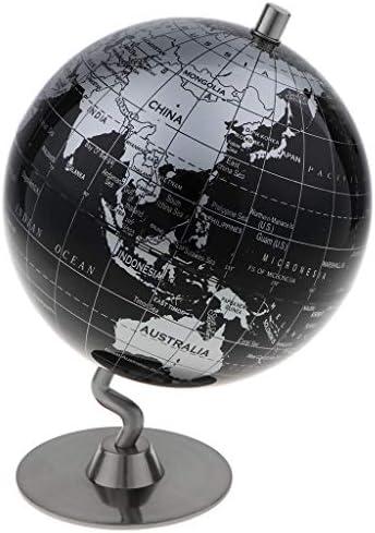 KESOTO KESOTO KESOTO 14cm Alliage Carte géographique Mondiale du Globe Politique d'excellents détails B07JJVFG4X | De La Mode  d651f5