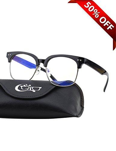 CGID-CT44-Gafas-Premium-con-Armazn-TR90-para-Proteccin-Contra-Luz-Azul-Anti-Fatiga-por-Deslumbramiento-Previene-Dolores-de-Cabeza-o-Fatiga-Visual-Gafas-Seguros-para-ComputadorasCelularesTabletas-Armaz