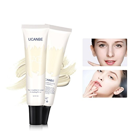 Allbesta Face Primer Cream Smooth Base Makeup Foundation Cover Pores Oil Control Moisture Anti-oxidation Gel -