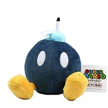 Sanei Offiziell lizenzierte Super Mario Plüsch 12,7cm bob-omb