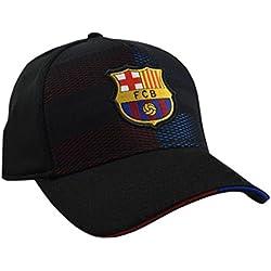 Gorra FC. Barcelona Grid Nº 1 T/SM - Producto Licenciado - Talla S/M Adulto Regulable - Poliéster 100%