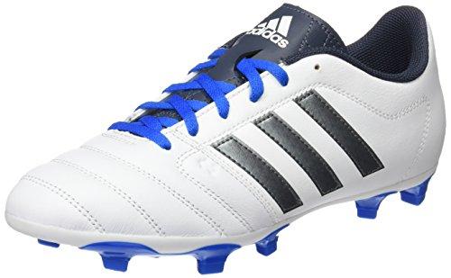 adidas Gloro 16.1 Fg, Chaussures de Football Compétition Mixte Adulte Blanc (Ftwr White/Night Metallic/Utility Blue)