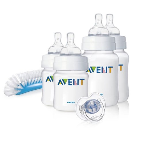 Philips AVENT SCD271/00 Newborn Bottle Starter Set (Classic)