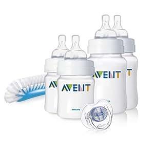 Philips AVENT SCD271/00 Newborn Bottle Starter Set (Classic)