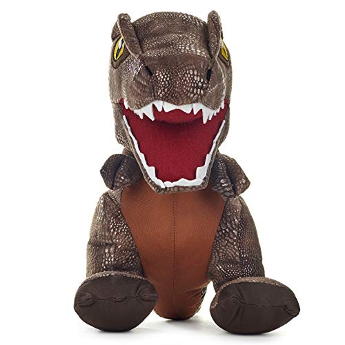 Posh Paws 37457 JW2 Jurassic World 2 T-Rex 35,6 cm Multi, Taglia Unica