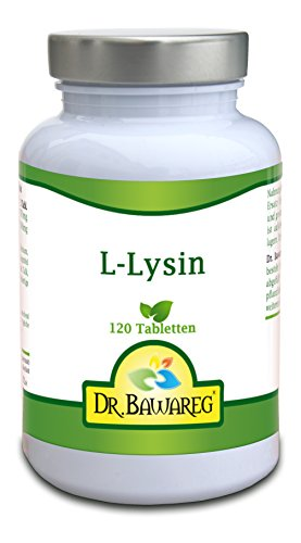 L-Lysin - 120 Tabletten je 1000mg - Amino Essential - Dr. Bawareg