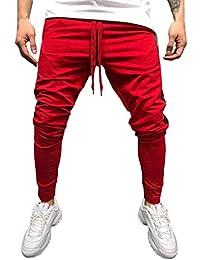 QUICKLYLY Pantalones Vaqueros Hombre Pitillo Rotos Chandals Trekking Skinny 0fc3c0e7c043