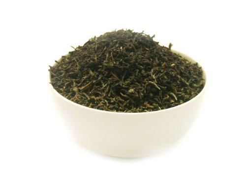 DARJEELING TGFOP1 FIRST FLUSH QUEENS BLEND – schwarzer Tee – im Tea Caddy (Teedose) – Ø115 mm, Höhe 150mm (250g)