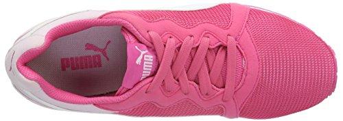 Puma Pacer, Baskets Basses Mixte Enfant Rose - Pink (Fandango Pink-puma White 03)