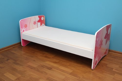 Best For Kids Kinderbett Jugendbett 90x180 mit Rausfallschutz 44 Design -