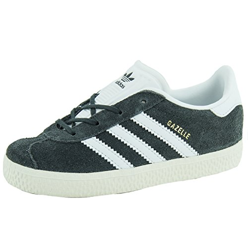 Chaussures Gazelle bébé Grey/White - adidas Originals Gris