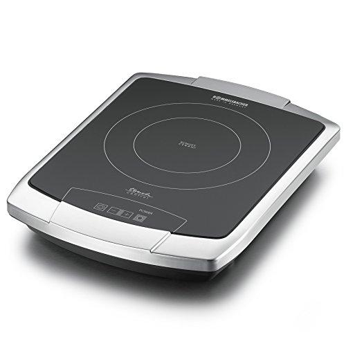 einzelkochplatte induktion ROMMELSBACHER CT 2203/TC TouchControl - CERAN® EINZELKOCHTAFEL - 2200 Watt - Edelstahl