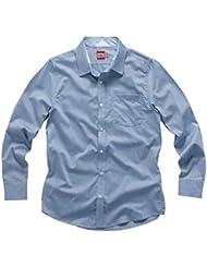 2016 Gill Men's L/S Crew Shirt Pale Blue CC02