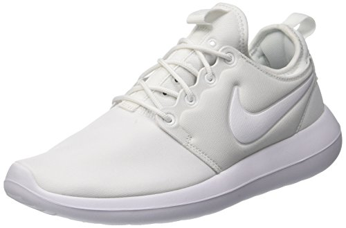 Nike W Nike Roshe Two, Chaussures de running entrainement femme, Blanc (White/White/Pure Platinum), 39 EU