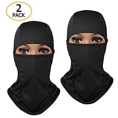 UIEEGPG Balaclava, Winter Ski Full Face Mask Cover Polyester Fit Helmet Hat for Women Men, Youth Neck Warmer for Motorcycle Snowboard Cycling Balaclava Hood or Lightweight Windproof Hat from UIEEGPG
