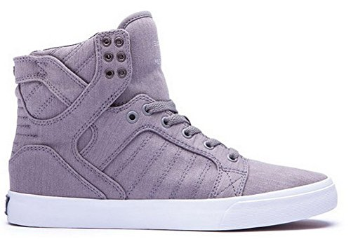 Supra Skytop, Baskets mode homme Gris