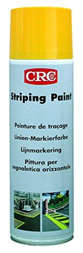 CRC 11671 Striping Paint Markierfarbe, gelb, 500 ml Spraydose (Striping Paint)