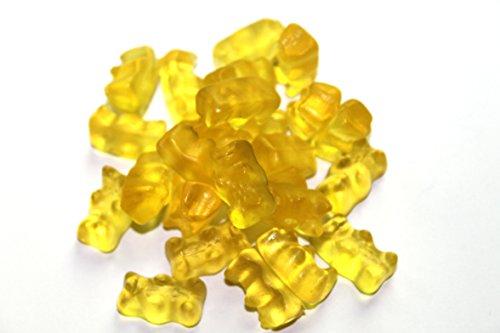 Gelbe Gummibärchen von Haribo Pfirsich - 100g