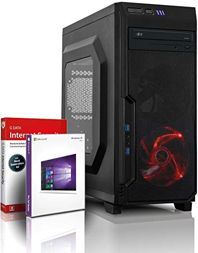 Intel Core i7 Monster Gamer mit 3 Jahren Garantie! | Intel i7 3770, 8 Threads, 3.9 GHz | 16GB | 512GB SSD + 4 TB | Geforce GTX 1650 4 GB DDR5 | USB 3.0 | DVD±RW | WLAN | Win10 | MS Office | #6125 4 Gb-3