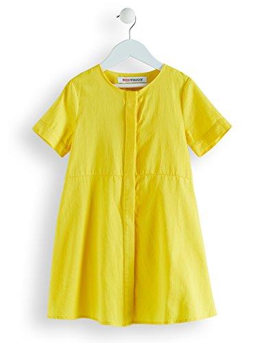 RED WAGON Mädchen Kleid in A-Linien-Form, Gelb (Yellow), 152 (Herstellergröße: 12 Jahre) (Mädchen In Gelben Kleid)