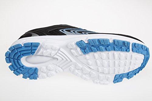 GIBRA chaussures de sport-noir/bleu-taille 41–45 Bleu - Noir/bleu
