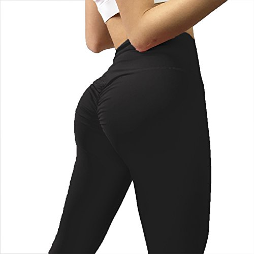 YOFIT Women Tummy Control Ruched Butt Sexy Yoga Pants High Waist Depot Workout Stretchy Leggings Trousers
