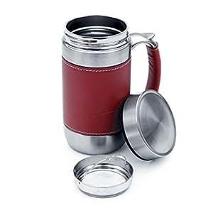 Stainless Steel Freelance Mug Red
