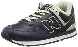 New Balance Herren 574v2 Sneaker, Blau (Pigment Pigment), 44.5 EU