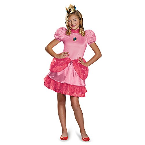 Kostüm Mario Peach Bros - Super Mario Bros. Princess Peach Prestige Tween Costume 10-12
