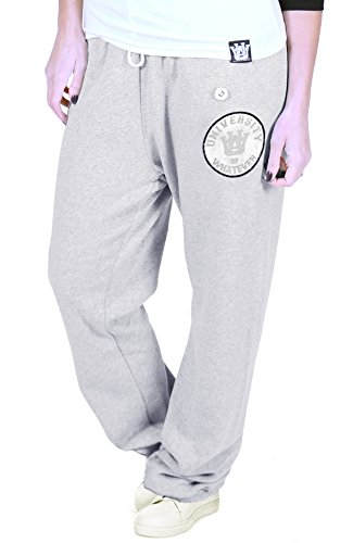 university-of-whatever-womens-lightweight-varsity-sweatpants-relaxed-fit-jogging-bottoms-grey-xs-cv3