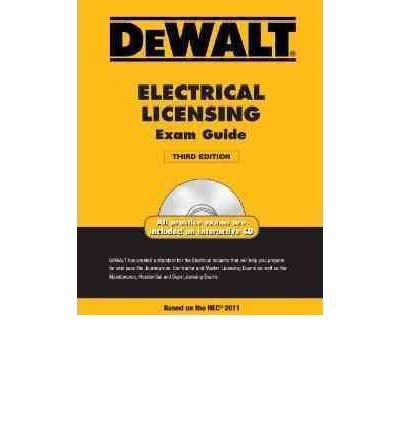 { [ DEWALT ELECTRICAL LICENSING EXAM GUIDE [WITH CDROM] (DEWALT ELECTRICAL LICENSING EXAM GUIDE) ] } By Holder, H Ray (Author) Jun-22-2011 [ Paperback ]