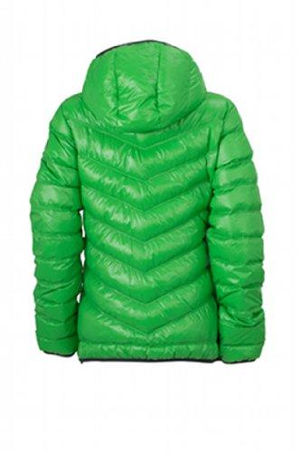 JAMES & NICHOLSON Daunenjacke Ladies' Down Jacket - Blouson - Femme Vert (green/carbon)