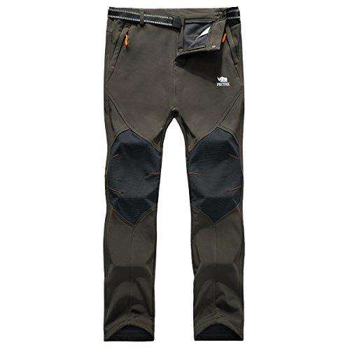 PECTNK Los Pantalones Aire Libre Hombres Que Son Fleece