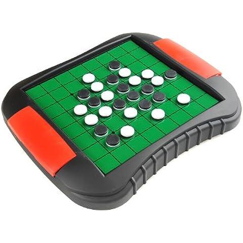 Monaco Magnetic Series: Ajedrez - reversible, juego magnético, Tamaño Medio: Dimensiones 27,2 x 23,7 x 3,5 cm, Mod. SC9612 DE