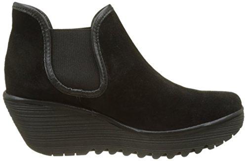 Londra Shoes Black Fly Yat Ladies nero Horse Nero dwOSxq